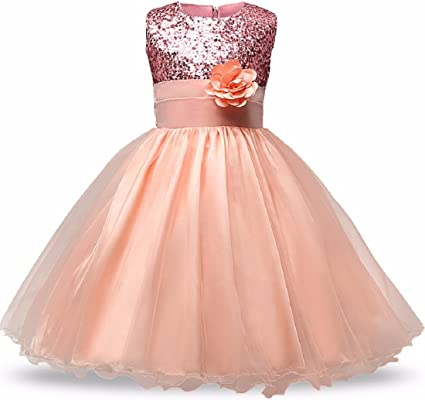 SOFYANA Baby Girls Tissue Net And Polyester Satin Dresses ( SFN_038_Sky Blue ) Girls' Dresses & Jumpsuits at amazon