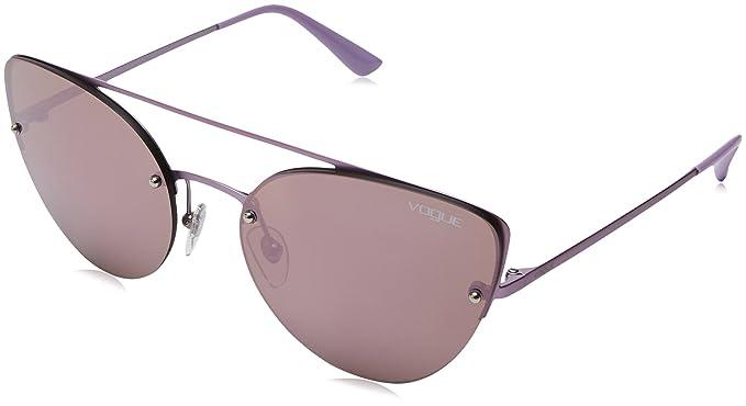 Vogue 0Vo4074S, Gafas de sol para Mujer, Matte Pink 57