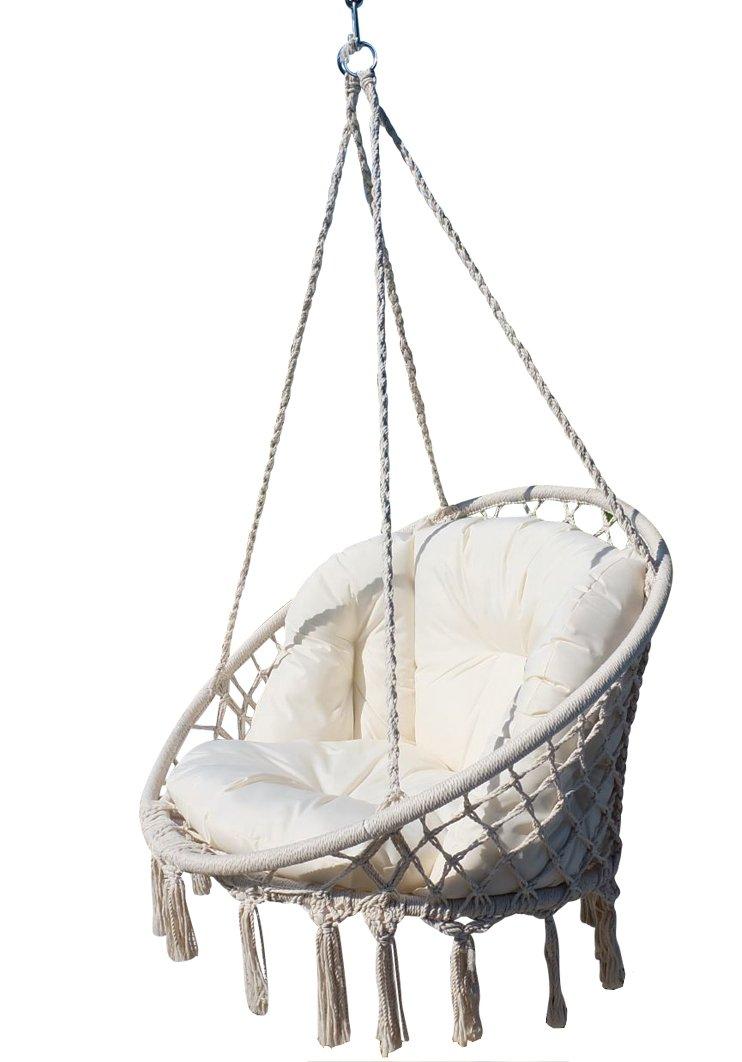 DESIGN Sedia Hanging CATALINA con cuscini (senza cornice) AS-S