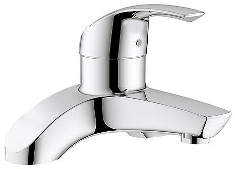 Grohe eurosmart rubinetto soprapiano per vasca da bagno amazon