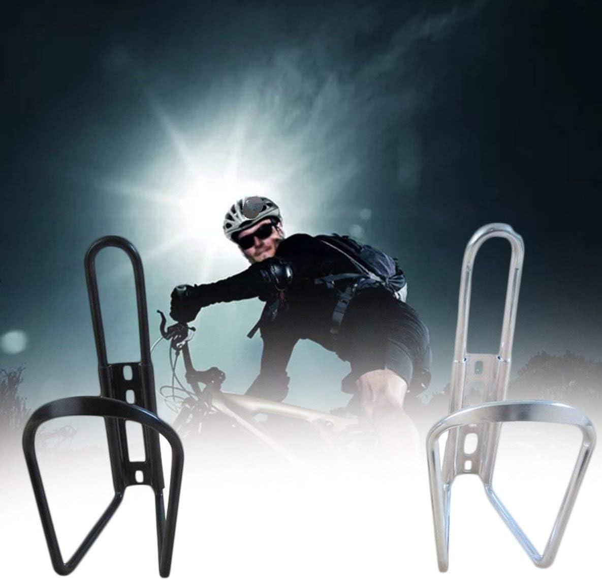 nbvmngjhjlkjlUK Portabid/ón para Bicicleta Portabid/ón de Aluminio Portabicicletas para Bicicleta de monta/ña Soporte para Bicicleta Montar en Bicicleta Accesorios para Bicicletas Negro