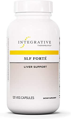 Integrative Therapeutics – SLF Forte – Liver Support – Milk Thistle, Vitamins, and Antioxidants for Liver Gallbladder Support – 120 Capsules