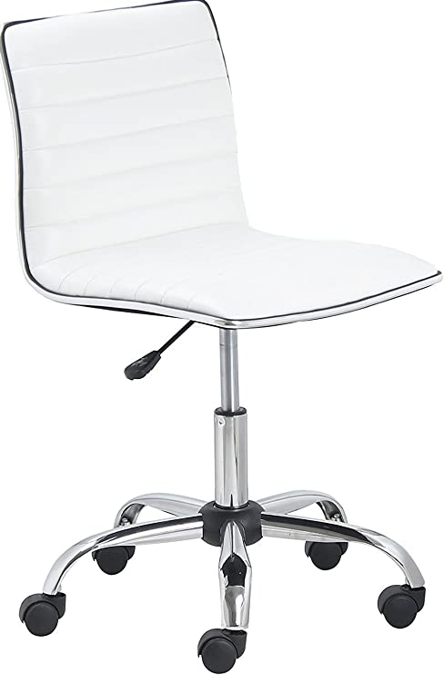 BTEXPERT Swivel Mid Back Office Chair - Best Sleek Chair