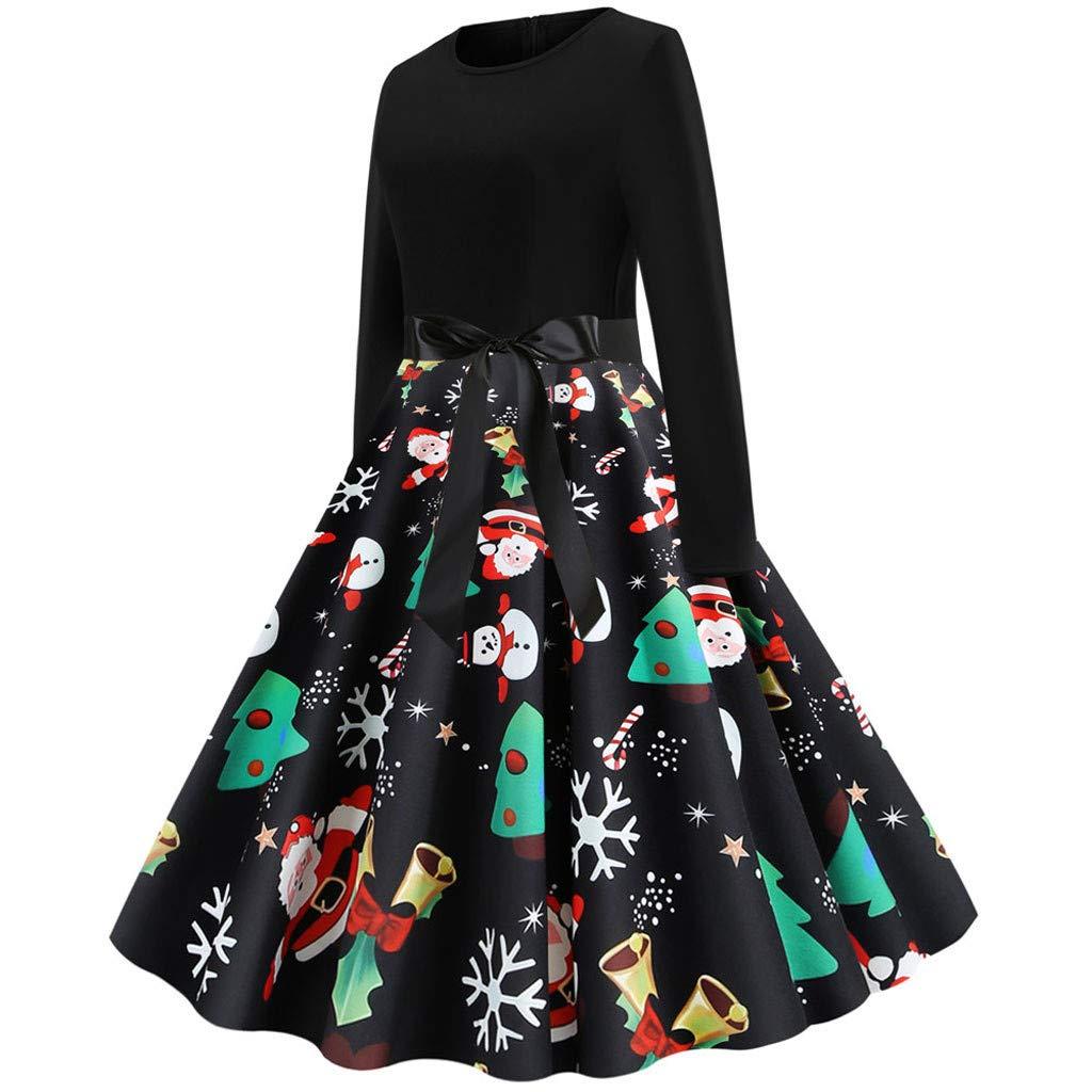 Vestido de fiesta para mujer de Biketafuwy, estilo vintage ...