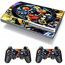 EBTY-Dreams Inc. - Sony Playstation 3 (PS3 FAT) - Kingdom Hearts Video Game Sora Kairi Riku Vinyl Skin Sticker Decal Protector