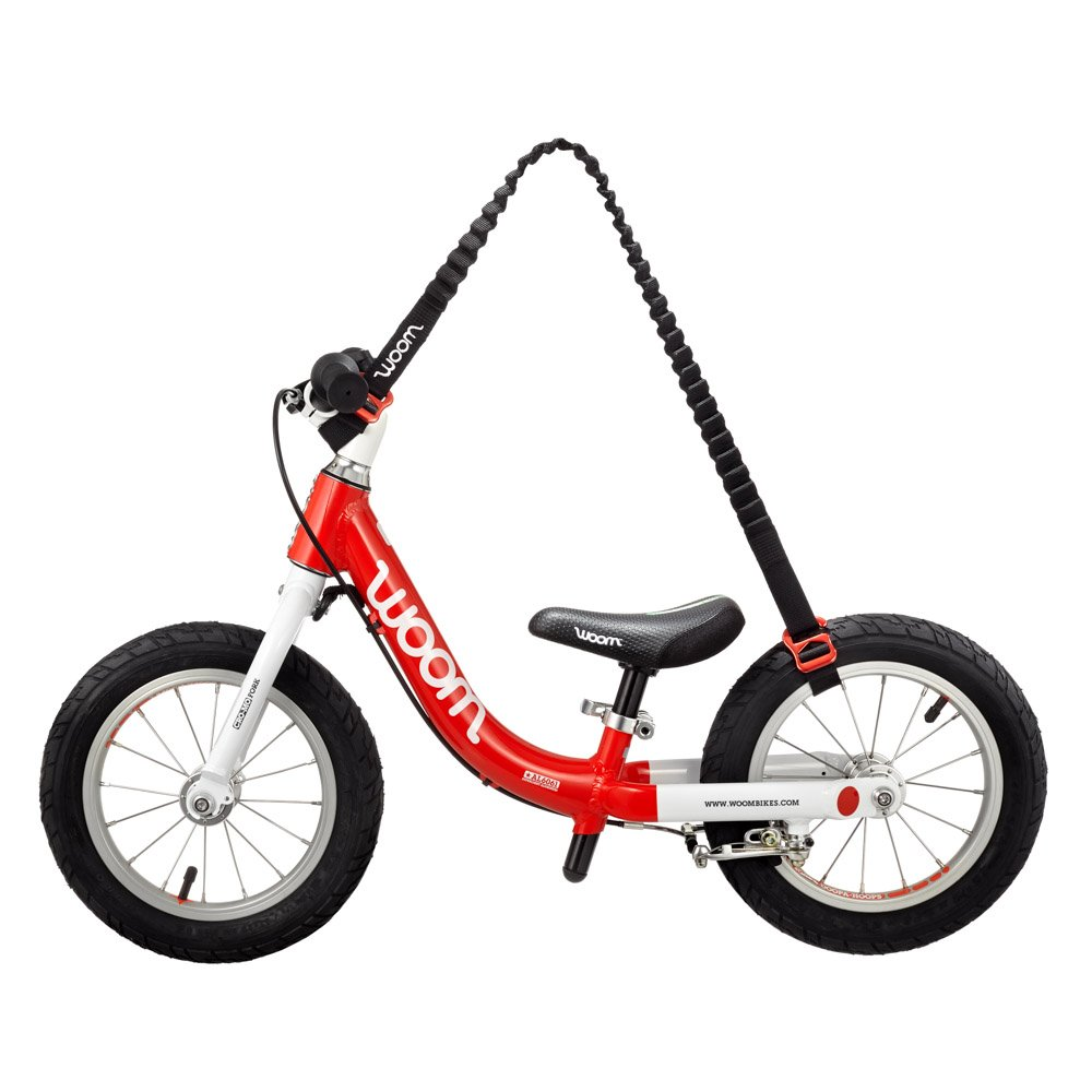 woom Balance Bike Carrier - Hands Frei, Red/Black