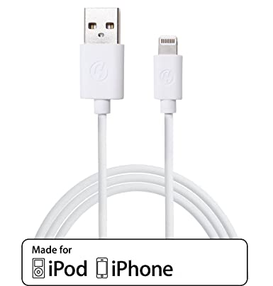 separation shoes 2c9d5 bf2eb Cloudseller 3 Metre [Apple MFI Certified] iPhone 6 / 6+ / 5 / 5S / 5C /  CHARGER COPPER LEAD HIGH QUALITY USB DATA CABLE- 8 Pin - Compatible With  ios ...