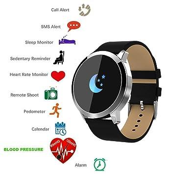 Reloj inteligente con Bluetooth, de TKSTAR, monitor de actividad y fitness, resistente al agua, conectado, ...