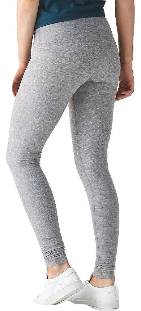 Lululemon Wunder Under Pant III Full On Luon Yoga Pants (Heathered Slate, 12) by Lululemon (Image #1)