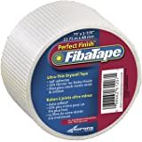 FibaTape FDW8189-U Perfect Finish 1-7/8-Inch by 75-Feet Ultra Thin Drywall Tape, White