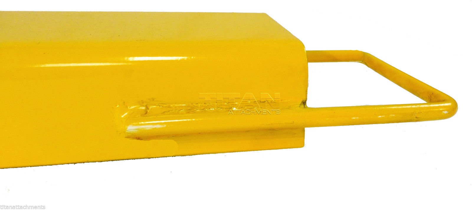 84'' Titan Pallet Fork Extensions for forklifts lift truck slide on steel FX84 by Titan Attachments (Image #5)