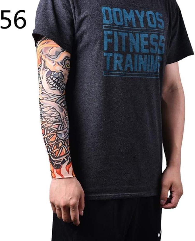 4pcs Brazo cálido Estiramiento Tatuaje Manga diseño Cuerpo Brazo ...