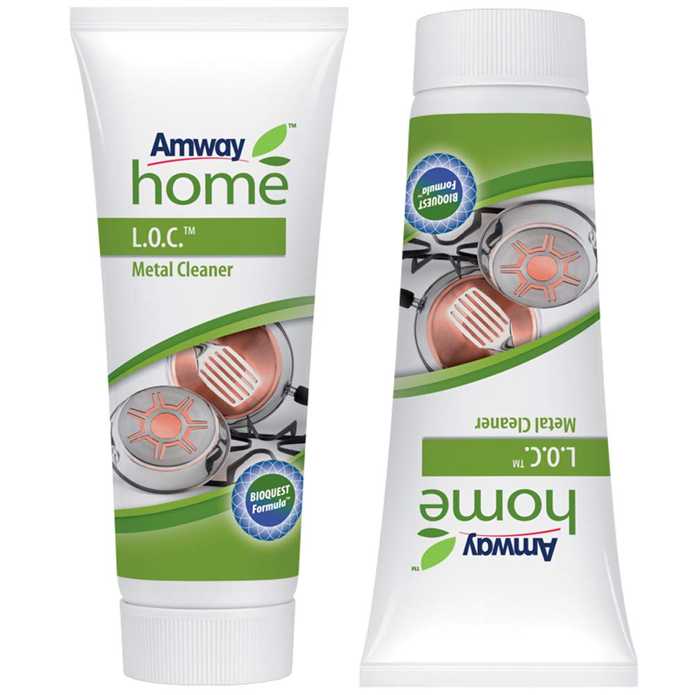 Amway - 2 x 200ml Metal Cleaner for Copper, Brass, Stainless Steel by Amway ACCESE BUSINESS GROUP