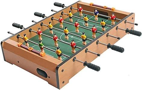 Futbolines Juguetes educativos para niños Mesa máquinas Juguetes interactivos para Padres e Hijos niños Juegos de Deportes Juguetes (Color : Brown, Size : 48 * 28 * 8.2cm): Amazon.es: Hogar