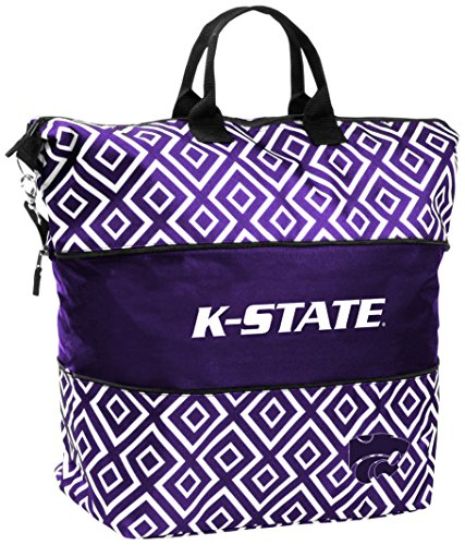 NCAA KS State Women's DD Expandable Tote Bag by Logo