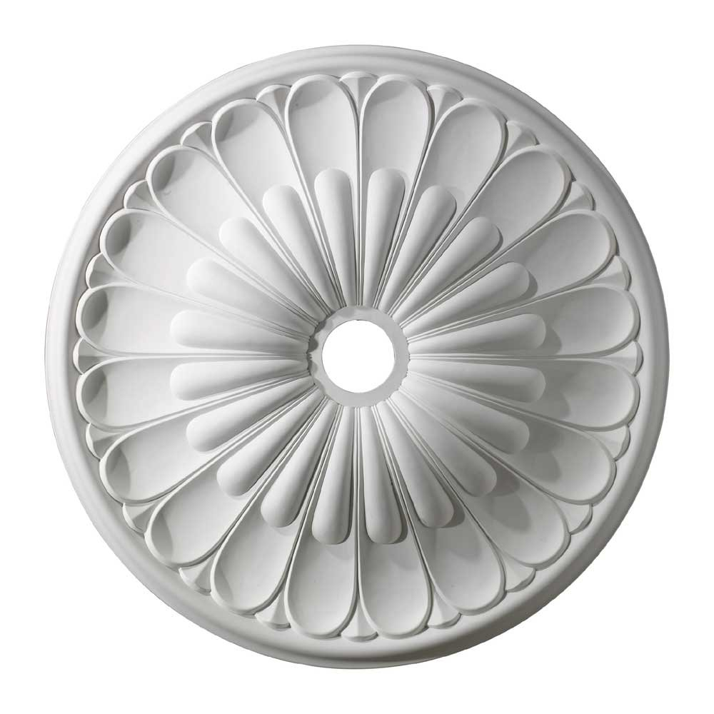 ELK Lighting M1009WH Melon Reed Ceiling Medallion 32'' in White by ELK