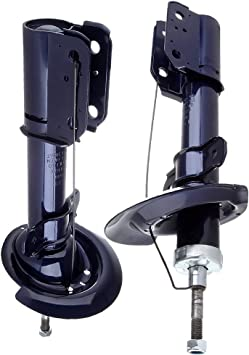 Shocks and Struts,ECCPP Rear Pair Shock Absorbers Strut Kits Compatible with 2004-2008 Pontiac Grand Prix,1997-2005 Buick Century,2000-2005 Chevy Monte Carlo Compatible with 334228 71662