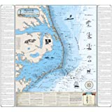 North Carolina Shipwreck Chart: Cape Hatteras and Outer Banks (Laminated)