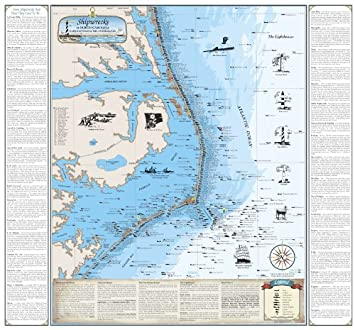 Beautiful Map of North Carolina Shipwreck Chart - Explore Cape Hatteras on outer banks mile marker map, nags head map, oregon inlet outer banks map, nyc map, ogg map, travel map, fishing map, icon map, nc map, one map, otc map, ob map, hawk map, carolina outer banks map, old map, occ map, beach map, outer banks 4x4 map,