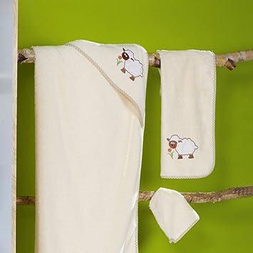 Ross Niños Baby, capucha en distintos motivos oveja Toalla de mano de toallas (50 x 70 cm: Amazon.es: Hogar