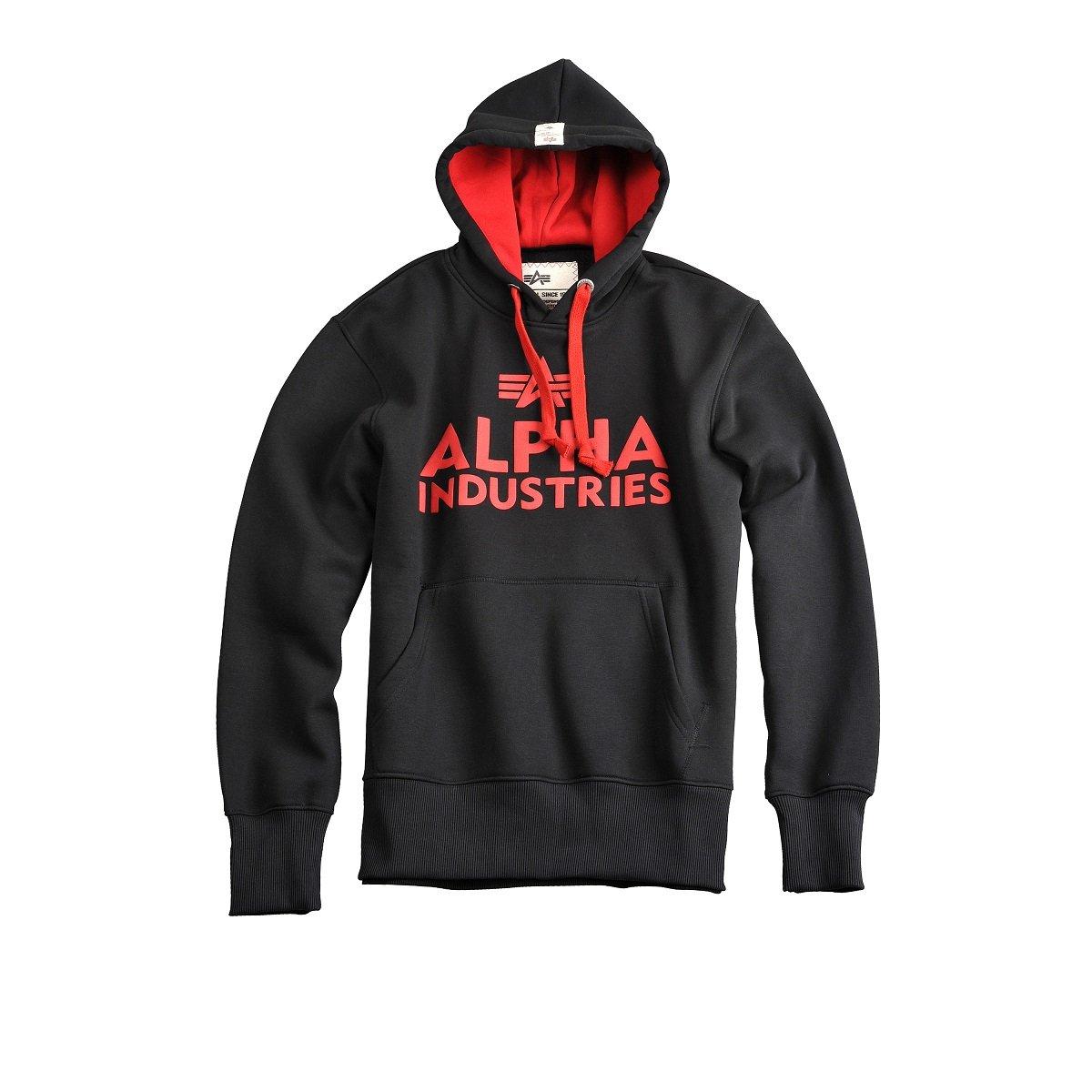 Alpha Industries Foam Print Hoody Herren Pullover Kapuzenpullover 143302