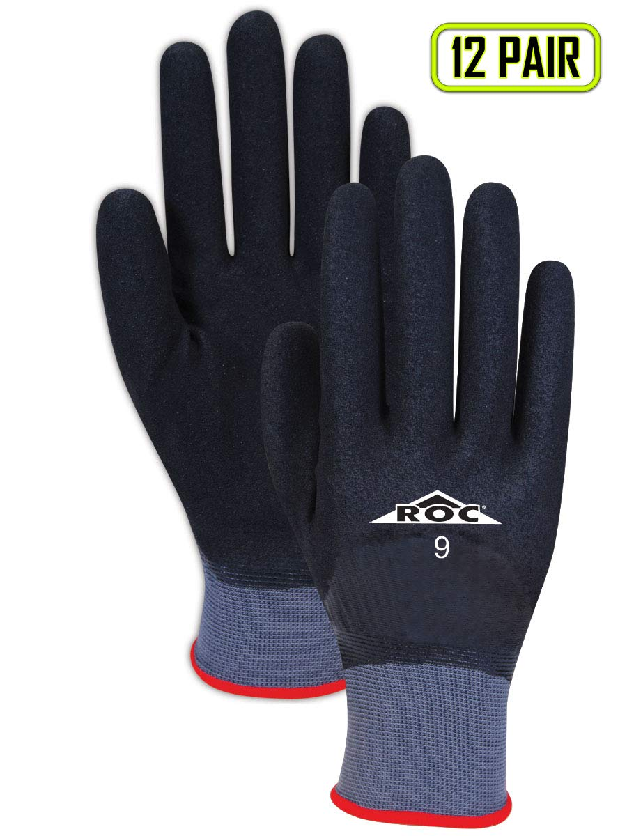Magid Glove & Safety GP630 Magid ROC GP630 Double Dip Fully Coated Gloves