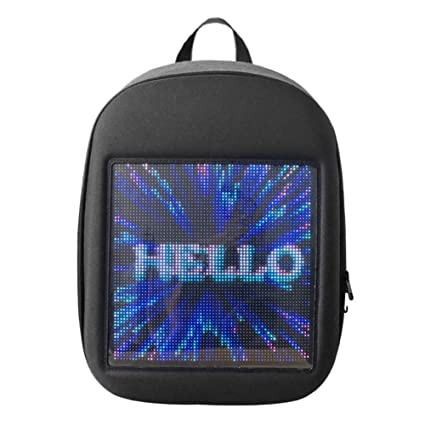 Yeshai3369 - Mochila de Publicidad con Wi-Fi Smart LED