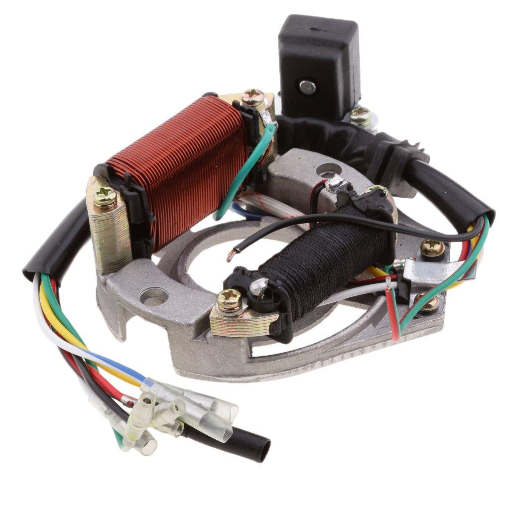 Homyl Electric Start Engine CDI Wire Harness Assembly Wiring Rectifier Set ATV Electric Quad 50CC 70CC 90CC 110CC