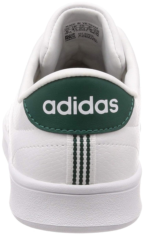 Adidas Damen Advantage Clean QT Sneaker, Weiß (Footwear Weiß/Footwear Weiß/Footwear Weiß/Footwear Weiß/Noble Grün 0) 4953fc