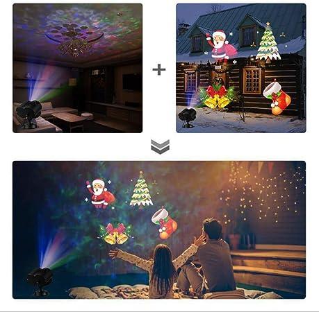 No/ël Halloween Spotlights Projecteur Fen/être Projecteur Lumi/ère 12 Film Projection Lampe Spectacle ext/érieur//D/écoration dint/érieur