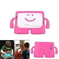 Capa para Tablet Samsung Galaxy Tab E 9.6 T560 T561 T565 Anti Choque Kids Infantil Braçinhos Rosa