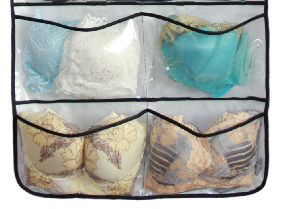 Misslo Hanging Closet Dual-Sided Organizers, 42 Pockets, 38.5 by 17.75-Inch by MISSLO (Image #5)