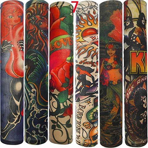 Fake Tattoo Sleeves Fake Tattoo Sleeve - 6PC Hot Sale Sty...