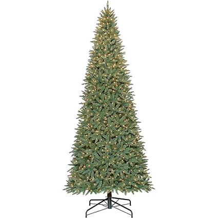 Tall Slim Christmas Trees Artificial.12 Ft Tall Artificial Slim Christmas Tree W 1300 Clear