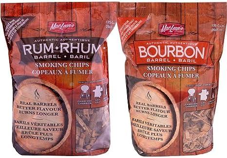 Bourbon Barrel - Fichas para fumar y barril de ron