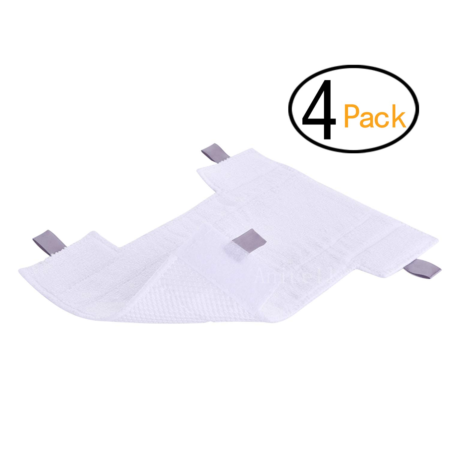 4 Pack Shark Replacement Washable Microfiber Cleaning pad for Shark Dust-Away, Rotator, Navigator Lift-Away Pro Vacuum, Ultra Light Stick Vacuum Cleaner - Part # P200W