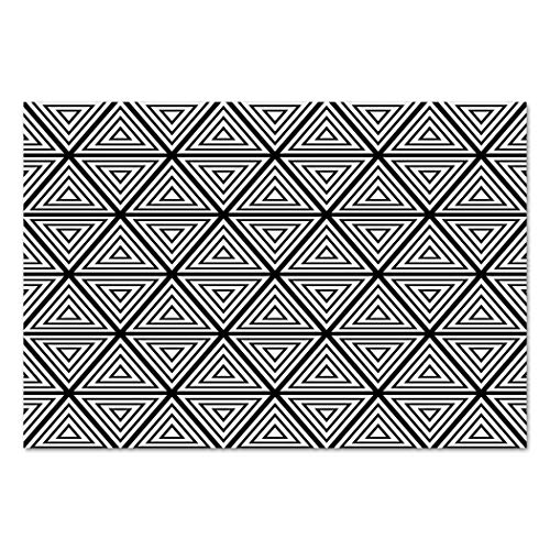 Large Wall Mural Sticker [ Abstract,Geometric Inner Triangles
