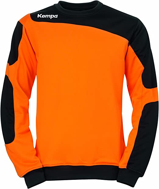 Kempa Teamtrikotset Tribute Torwartpullover - Camiseta de equipación de Balonmano para Hombre, Color Naranja/Negro, Talla 2XL: Amazon.es: Ropa y accesorios