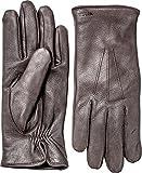 Hestra Men's Norman Gloves Dark Brown 10 & Knit Cap Bundle