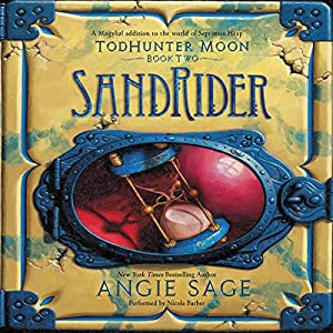 TodHunter Moon, Book Two: SandRider Audiobook