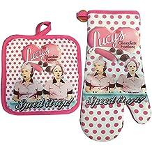 I Love Lucy Oven Mitt / Pot Holder Set