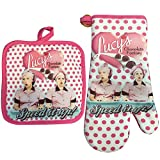 I Love Lucy Oven Mitt / Pot Holder Set