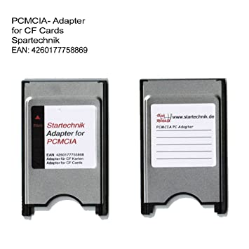 Amazon.com: Adaptador PCMCIA Tarjeta Compact Flash para ...