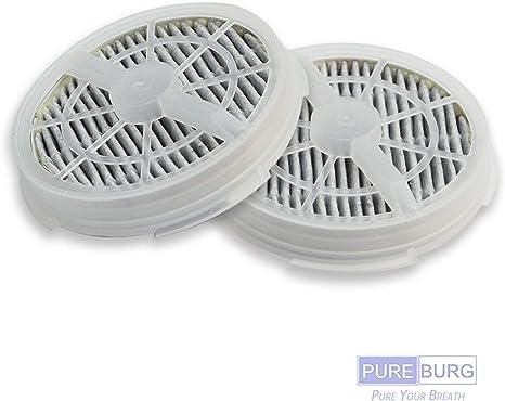 HEPA y filtros de carb/ón activo Hongfa 2 paquetes de purificador de aire LV-H132 filtro de repuesto para Levoit purificador de aire