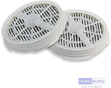 Pureburg 2 filtros HEPA de repuesto para SHENGDELONG RIGOGLIOSO ...
