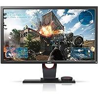 BenQ ZOWIE XL2430 de 24 polegadas 144Hz Monitor Gamer Para E-Sports PC com Conexão Display Port, Lag-Free, Black Equalizer, S-Swtich, Low Blue Light e Ajuste de Altura, Zowie, Acessórios para Computador, Grafite Fosco, 24''