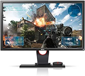 BenQ ZOWIE XL2430 24 inch 144Hz Gaming Monitor | 1080p 1ms | Black Equalizer for Competitive Edge | S-Switch for Custom Display Profiles