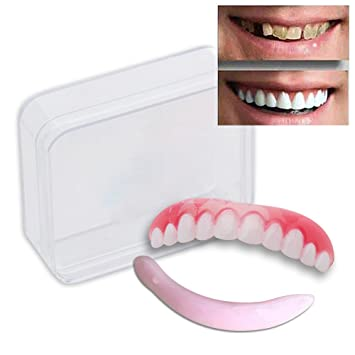 Amazon eholife cosmetic teeth 1 pack large natural uppers eholife cosmetic teeth 1 pack large natural uppers only arrives flat solutioingenieria Gallery