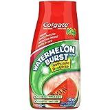 Colgate Liquid Gel 2-in-1 Kids Toothpaste and Mouthwash, Watermelon, 100 Milliliters, 100ml