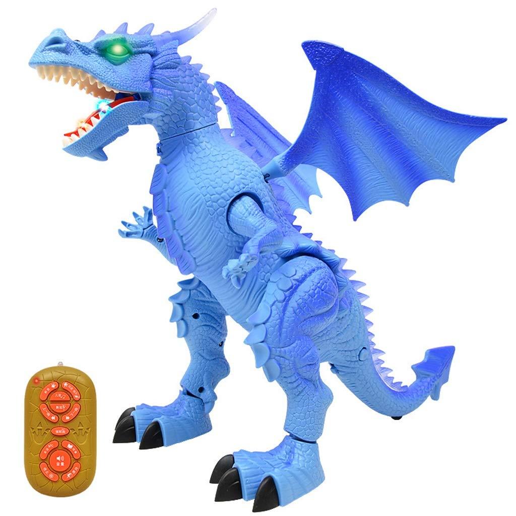 Dinosaurier Spielzeug Simulation Tiermodell Elektrische große intelligente Fernbedienung Dinosaurier wird Kinder Spielzeug Dinosaurier gehen